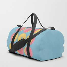 Moon Phase Donuts Duffle Bag
