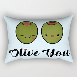 Olive You! Rectangular Pillow