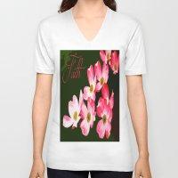 faith V-neck T-shirts featuring faith by Shea33