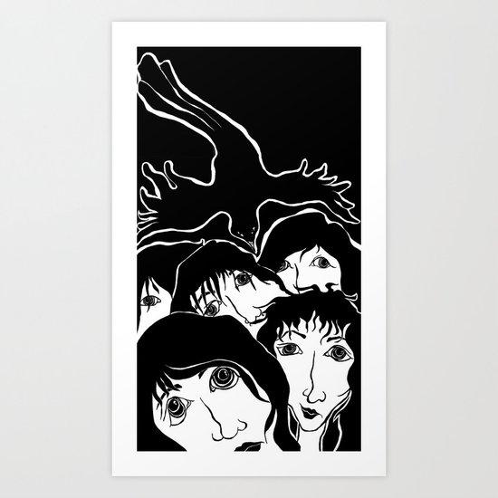 Spirit Helping Art Print