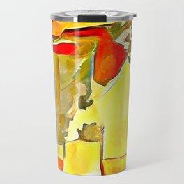Flowers in Vases Travel Mug