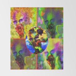 """""""Warholesque"""" by surrealpete Throw Blanket"""