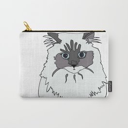 Theodore the Himalayan cat Carry-All Pouch