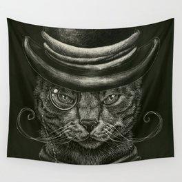 Classy Cat Wall Tapestry