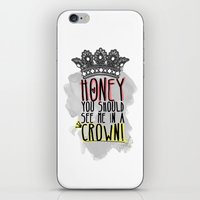 moriarty iPhone & iPod Skins featuring Moriarty - SHERLOCK by KanaHyde