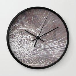Texture #12 Glass Wall Clock