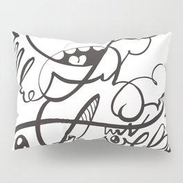 The Doodle Family Pillow Sham