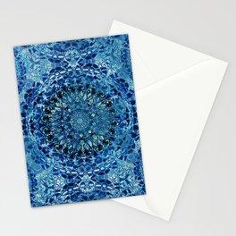 Boho Pool Mandalas Stationery Cards