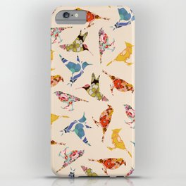 Vintage Wallpaper Birds iPhone Case