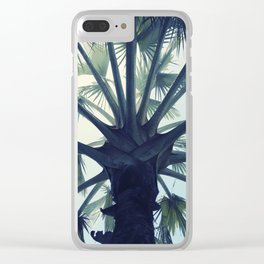 Tropical Tranquillity Clear iPhone Case