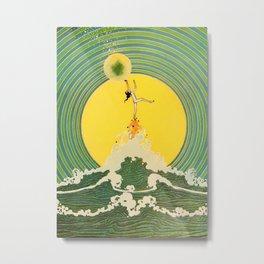 """""""Bubble Burst"""" by D S Walker Metal Print"""
