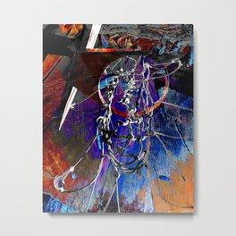 Moden Basketball art 9 Metal Print