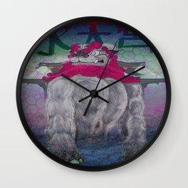 Guardian of the Suiten-gu  Wall Clock