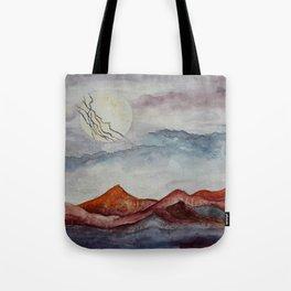 Lightning Moon  Tote Bag