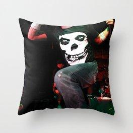 Elias Soriano of Nonpoint Throw Pillow