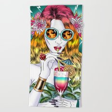 Beach Frenzy Beach Towel