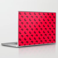 meat Laptop & iPad Skins featuring MEAT pattern by Dr.Söd