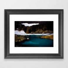 Grinell Glacier  Framed Art Print