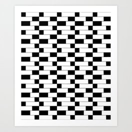 optical pattern 10 Art Print