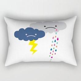 Rain Rain Go Away Rectangular Pillow