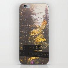 I wish to explore iPhone & iPod Skin