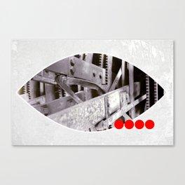 gears inside Canvas Print