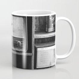 Retro Stand (Black and White) Coffee Mug