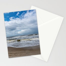 Oak Island NC beach Stationery Cards