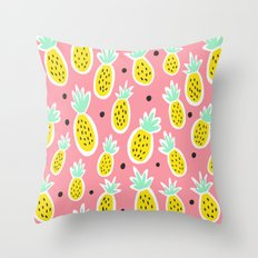 Pineapple Party Throw Pillow