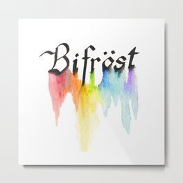 Bifrost the road to Valhalla Metal Print