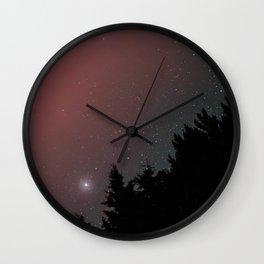Algonquin Night Sky Wall Clock
