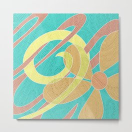 Bright Bloom  Metal Print