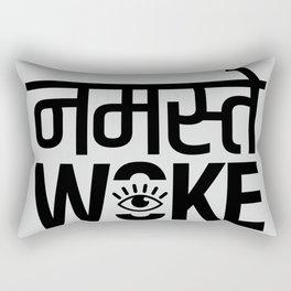 Namastay Woke Rectangular Pillow