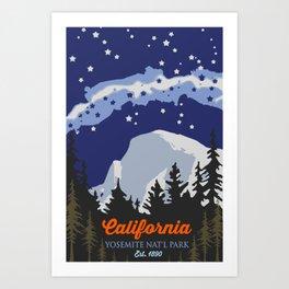 Yosemite. Art Print