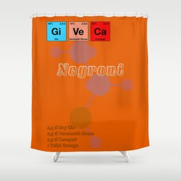 Negroni Shower Curtain