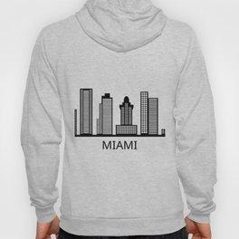 miami skyline Hoody