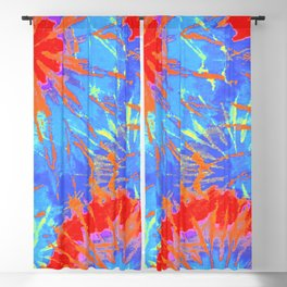 Tie Dye 12 Blackout Curtain