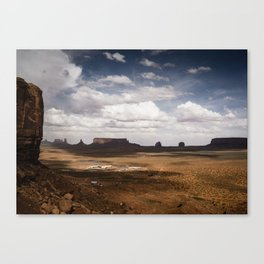 Monument Valley Dramatic Skies Canvas Print