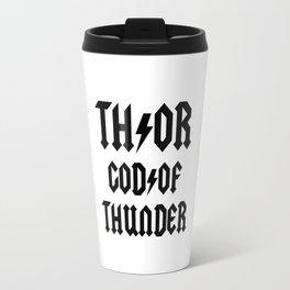 Thor God of Thunder ACDC Travel Mug
