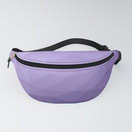 Ultra violet purple geometric mesh pattern Fanny Pack