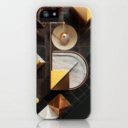 36 Days of Type - B iPhone Case