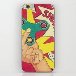 Lichtenstein Fidget Spinner iPhone Skin
