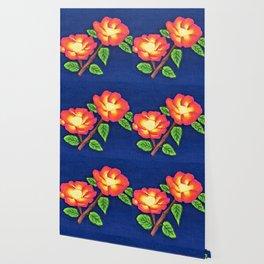 Sunset Roses Wallpaper