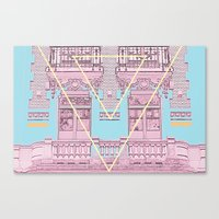 architecture Canvas Prints featuring ARCHITECTURE by MAR AMADOR