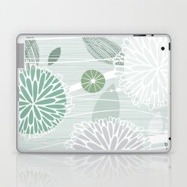 Abstract Floral by Friztin Laptop & iPad Skin