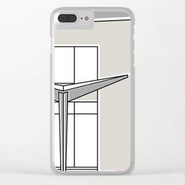 Villa Planchart -Detail- Clear iPhone Case