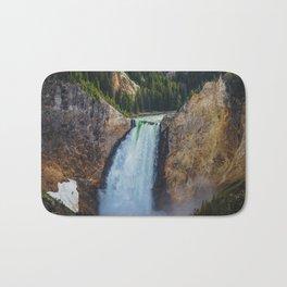 Falls 2, Grand Canyon of the Yellowstone Bath Mat