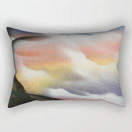 Beautiful Sky Cross Rectangular Pillow