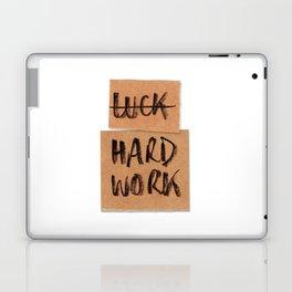 Not Luck, hard work Laptop & iPad Skin
