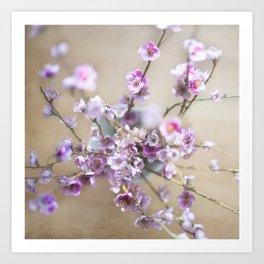 Purple Willow Art Print